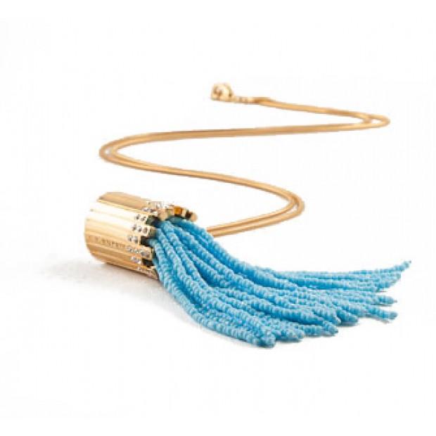 Watchwater Tassel - Turquiose Beads