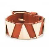 Chevron Bracelet - Brown